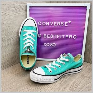 🦋Converse Chuck Taylorr All Star Low Top Teal